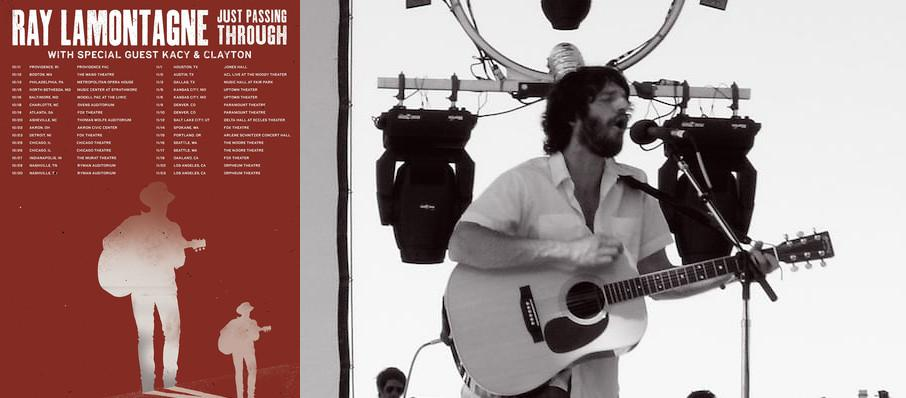 Ray LaMontagne at Jacobs Pavilion