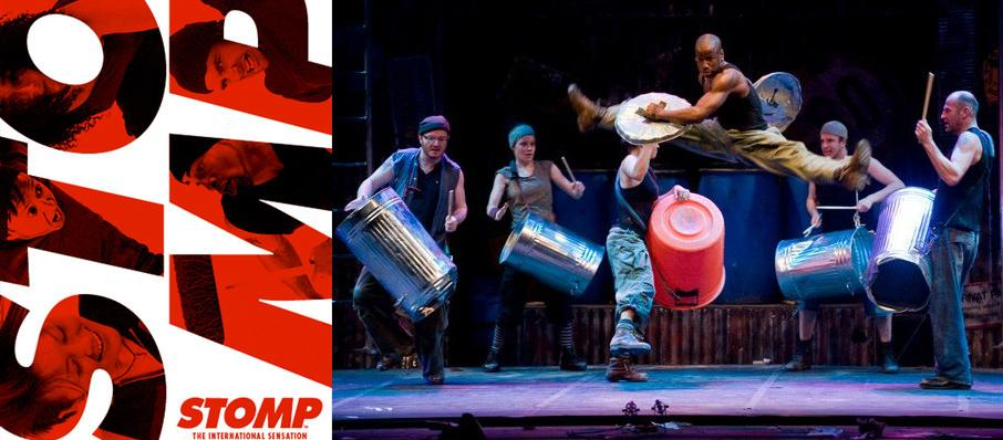 Stomp at Connor Palace Theater