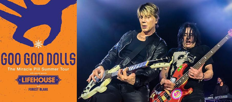 The Goo Goo Dolls at Jacobs Pavilion