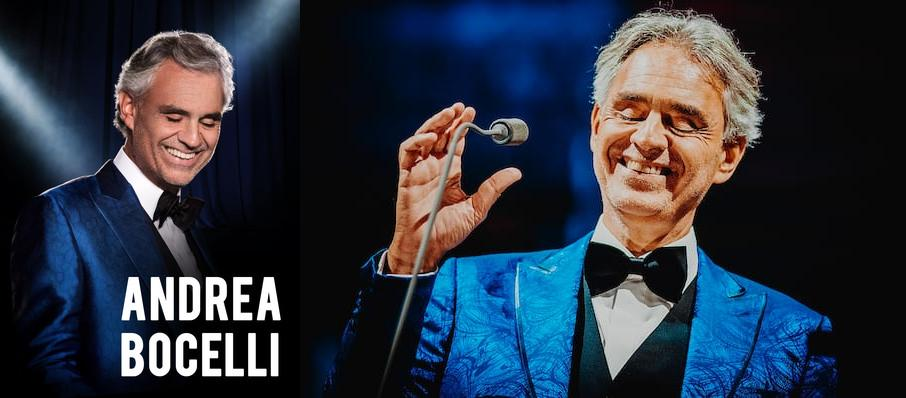 Andrea Bocelli at Quicken Loans Arena