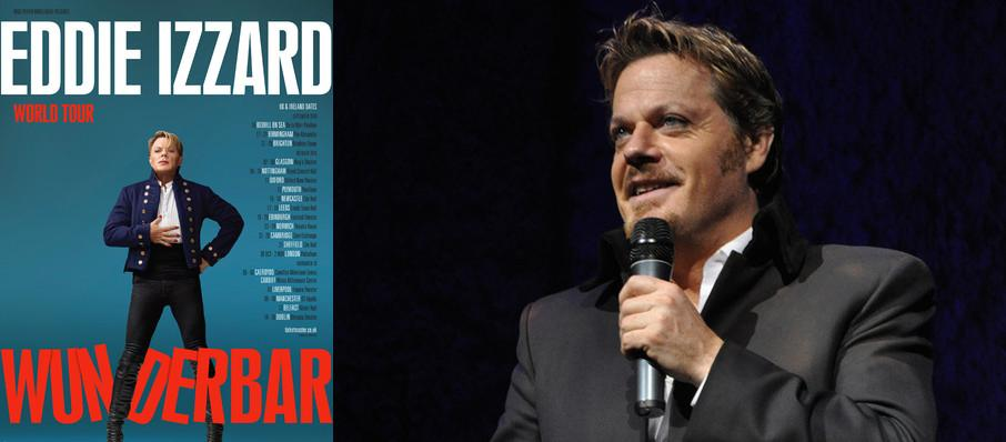 Eddie Izzard at Connor Palace Theater