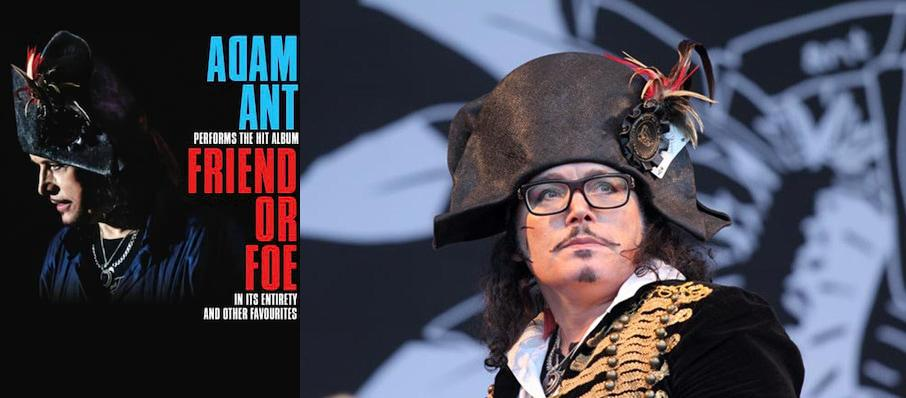 Adam Ant at Masonic Auditorium
