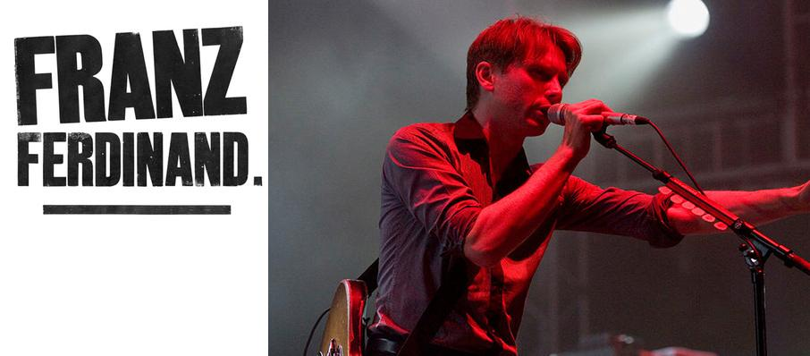 Franz Ferdinand at House of Blues