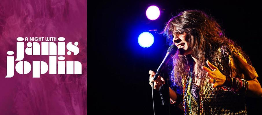 A Night with Janis Joplin at Connor Palace Theater