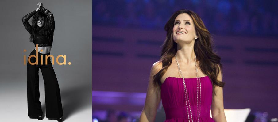 Idina Menzel at Jacobs Pavilion