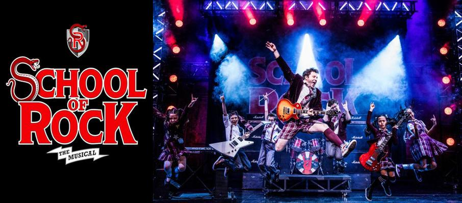School of Rock at Connor Palace Theater