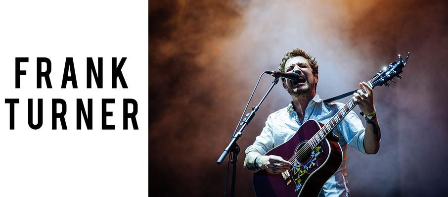 Frank Turner at House of Blues