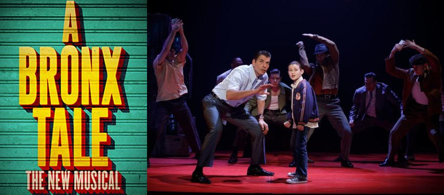 A Bronx Tale at Connor Palace Theater