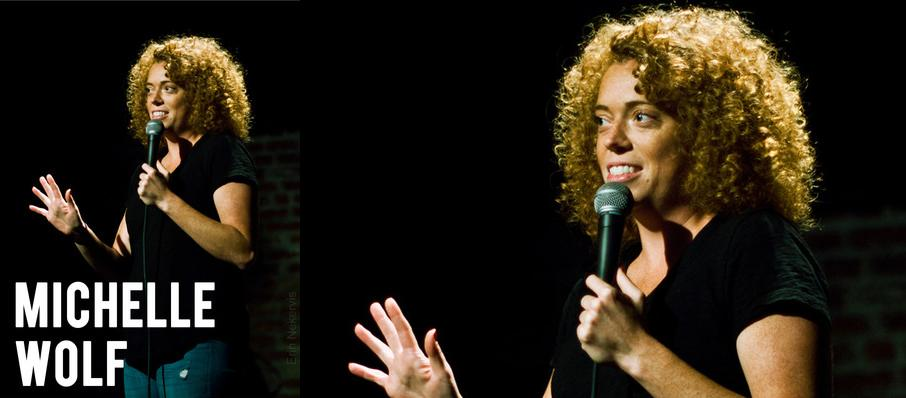 Michelle Wolf at Hilarities Cleveland