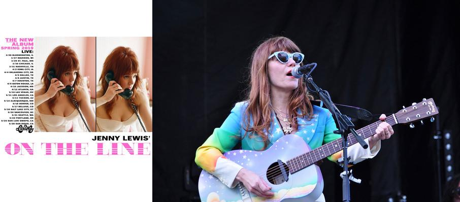 Jenny Lewis at Agora Theater
