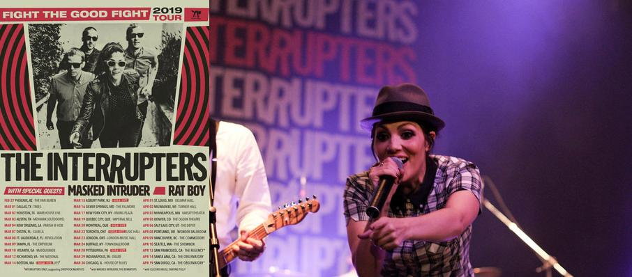 The Interrupters at House of Blues