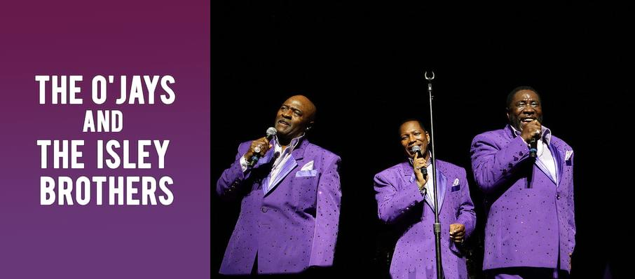 The OJays and Isley Brothers at State Theater