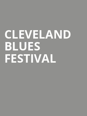 Cleveland Blues Festival at State Theater