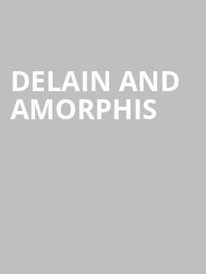 Delain and Amorphis at Agora Theater