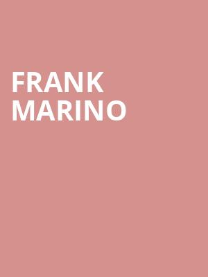 Frank Marino at Odeon