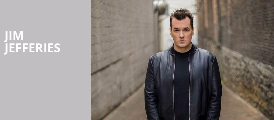 jim jefferies connor palace theater cleveland oh tickets