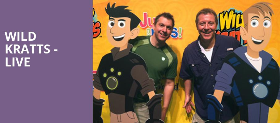 Wild Kratts Live, Music Hall Cleveland, Cleveland