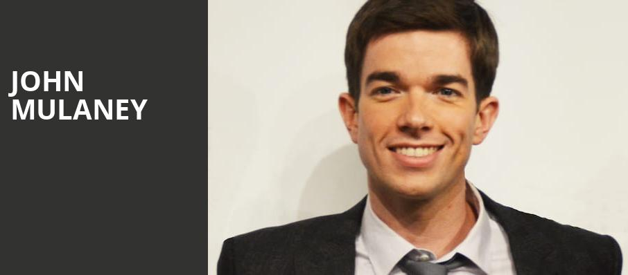 John Mulaney, Connor Palace Theater, Cleveland