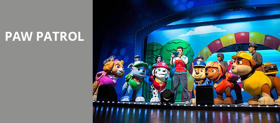 Paw Patrol, Ohio Theater, Cleveland