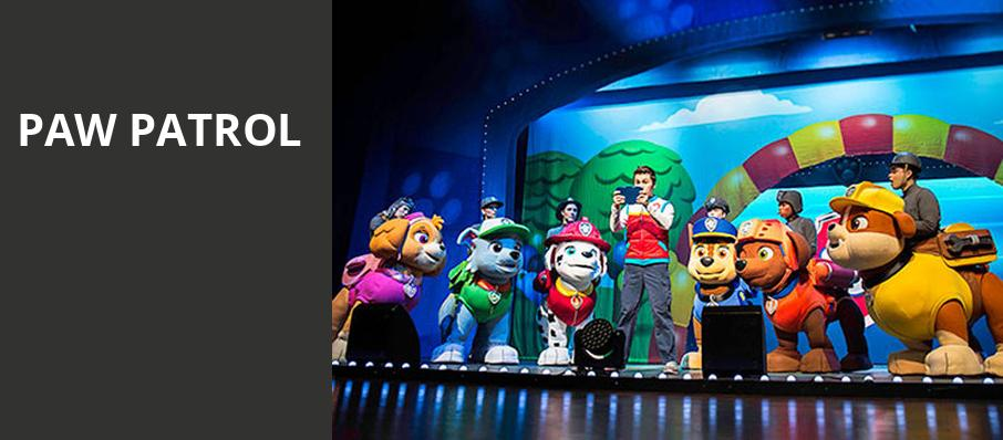 Paw Patrol, State Theater, Cleveland