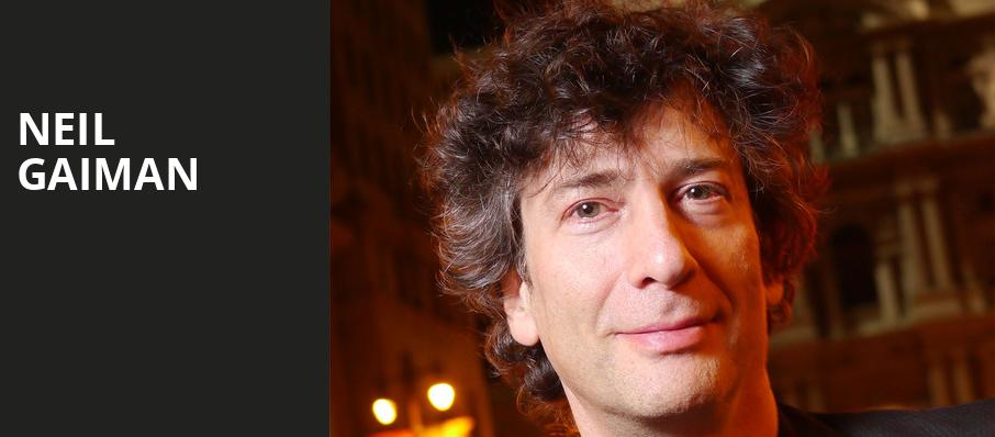 Neil Gaiman, State Theater, Cleveland