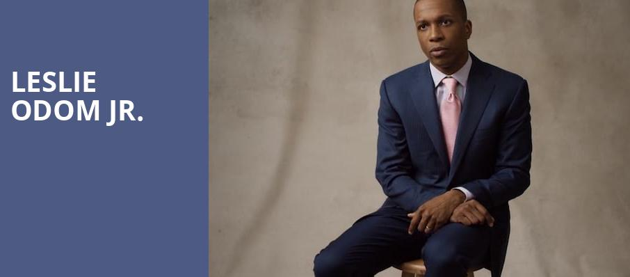 Leslie Odom Jr, State Theater, Cleveland