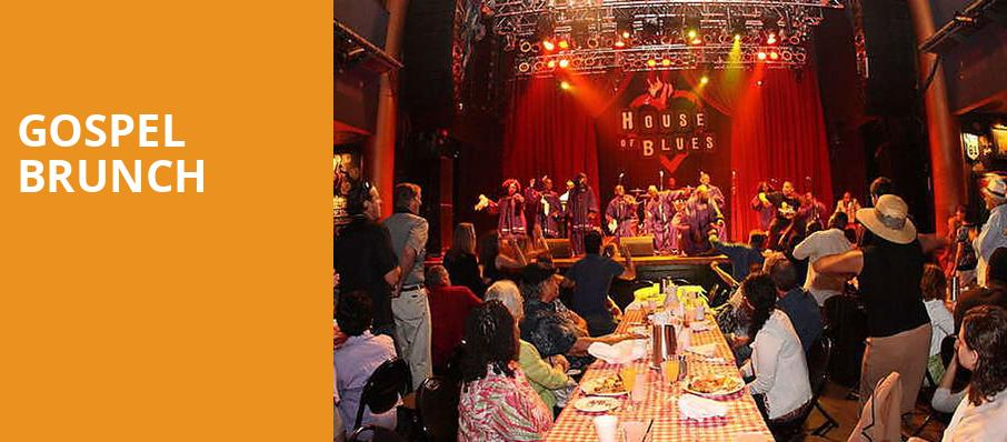 Gospel Brunch, House of Blues, Cleveland