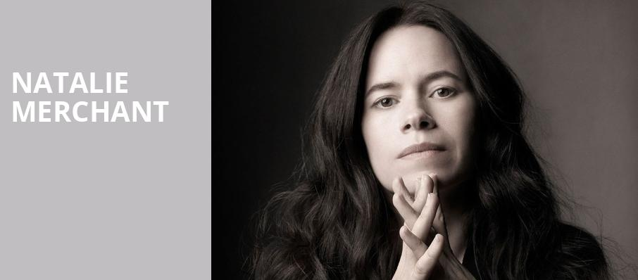 Natalie Merchant, Connor Palace Theater, Cleveland