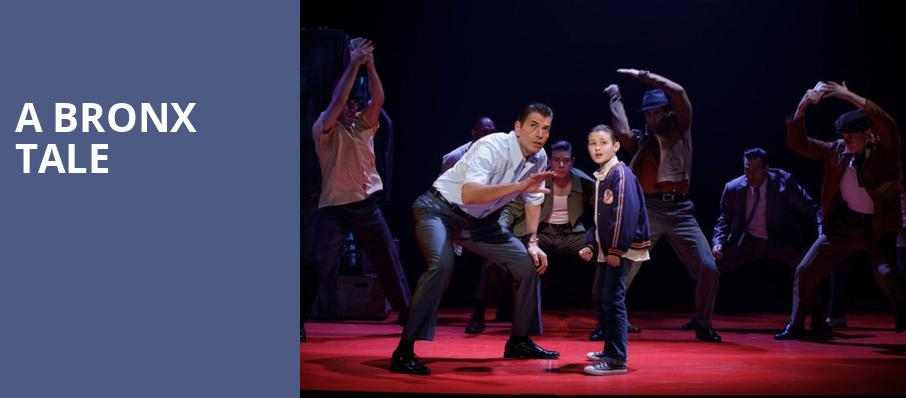 A Bronx Tale, Connor Palace Theater, Cleveland