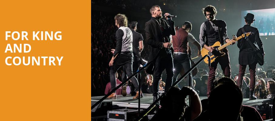 For King And Country, Wolstein Center, Cleveland
