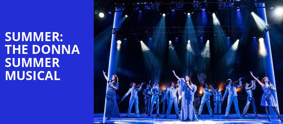 Summer: The Donna Summer Musical - Connor Palace Theater