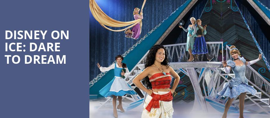 Disney On Ice Dare To Dream, Quicken Loans Arena, Cleveland