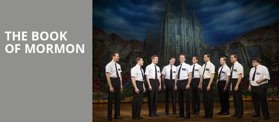 The Book of Mormon, Connor Palace Theater, Cleveland