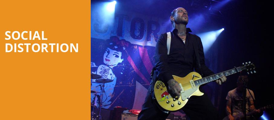 Social Distortion, House of Blues, Cleveland
