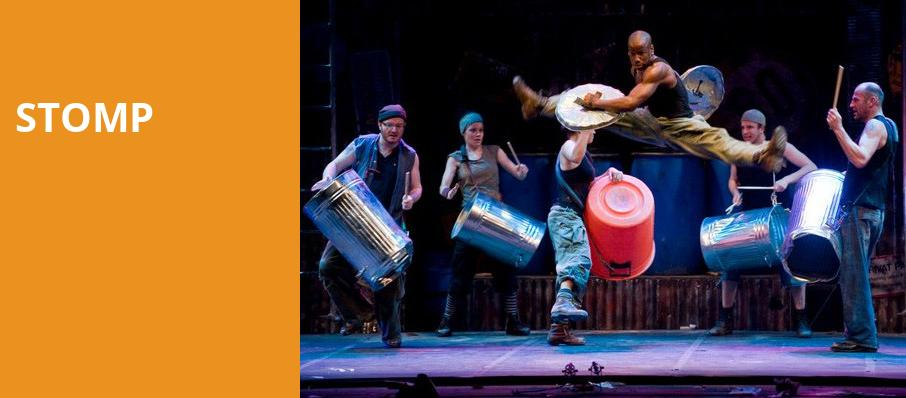 Stomp, Connor Palace Theater, Cleveland