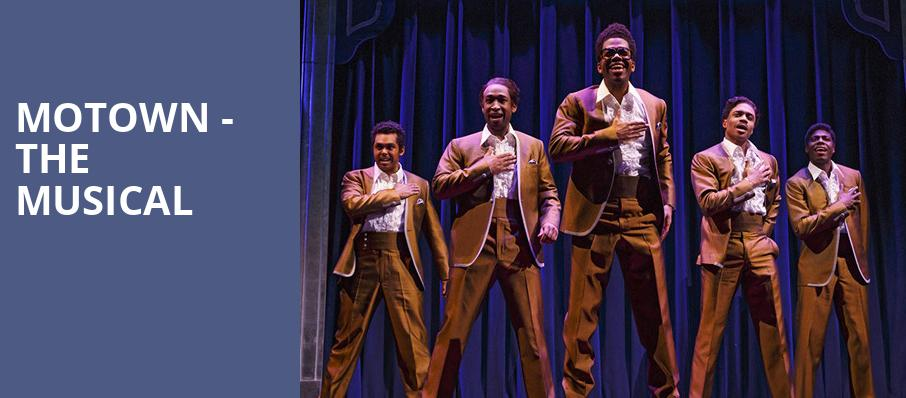 Motown The Musical, State Theater, Cleveland