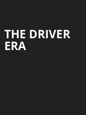 The Driver Era, Agora Theater, Cleveland